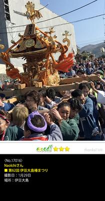 NaoIchiさん:第62回 伊豆大島椿祭り, 2017年1月29日