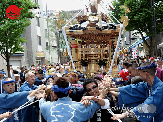 「今泉神輿保存会」2016年 横浜開港祭 みこしコラボレーション_YH16_012
