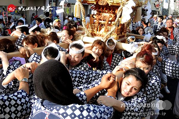 〈八重垣神社祇園祭〉萬町区 @2014.08.04