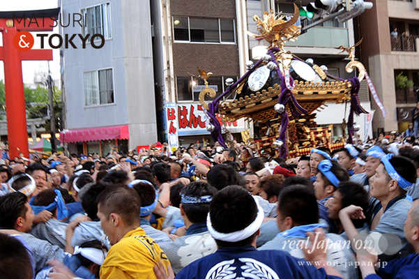 〈下谷神社大祭〉本社神輿渡御 2016.05.08 ©real Japan 'on! (sty16-036)