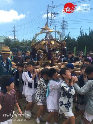 〈八重垣神社祇園祭〉平成28年度年番町:仲町区 子供神輿 @2016.08.05 YEGK16_037