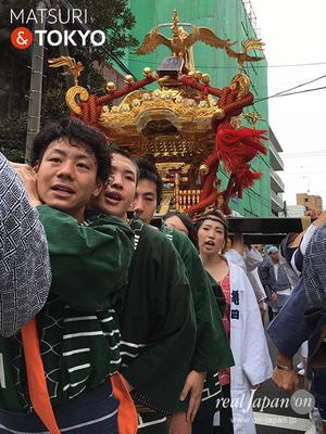 【牛嶋神社祭礼 (2016.09.18) 亀沢四丁目町会】