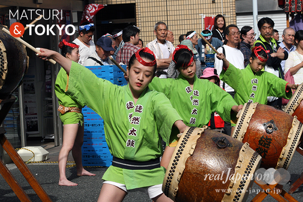 〈下谷神社大祭〉本社神輿渡御 2016.05.08 ©real Japan 'on! (sty16-011)
