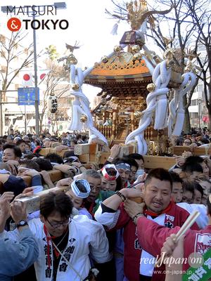 〈建国祭 2017.2.11〉⑧會津祭好会 ©real Japan'on :kks17-029