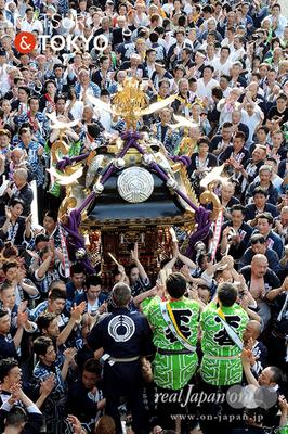 〈下谷神社大祭〉本社神輿渡御 2016.05.08 ©real Japan 'on! (sty16-026)