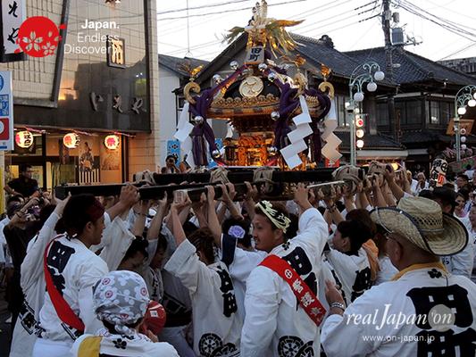 〈八重垣神社祇園祭〉田町区 @2016.08.04 YEGK16_019
