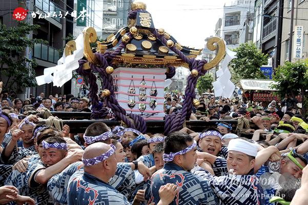 三之宮・本社神輿渡御〈浅草馬三〉@2013.05.18