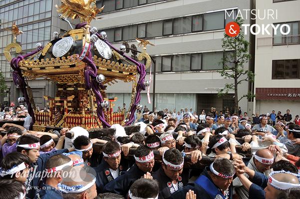 〈下谷神社大祭〉本社神輿渡御 2016.05.08 ©real Japan 'on! (sty16-007)