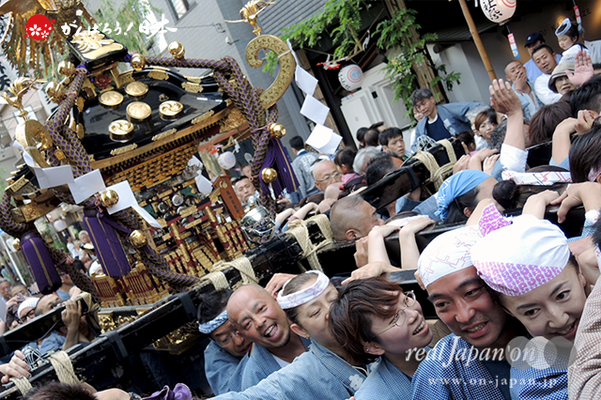 町内神輿渡御〈東八番 浅草象一〉@2014.05.18