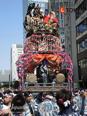 〈神田祭 2016.5.10〉掛川市横須賀「川原町」の祢里 ©real Japan'on -knd16-002