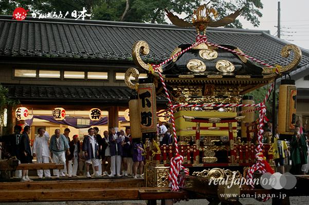 与野夏祭り:上町氷川神社境内〈下町・神輿〉@2014.07.19