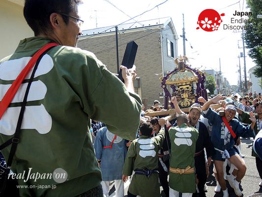 北小岩 八幡神社例大祭 2016年10月02日 KKH16_020