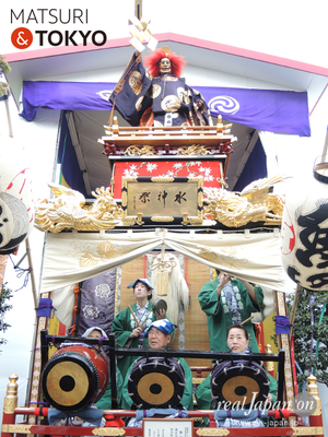 〈神田祭 2016.5.10〉魚河岸水神社_加茂能人形山車 ©real Japan'on -knd16-012