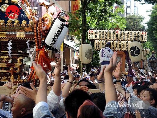 「井土ヶ谷神輿保存會(一心會)」2016年 横浜開港祭 みこしコラボレーション_YH16_067