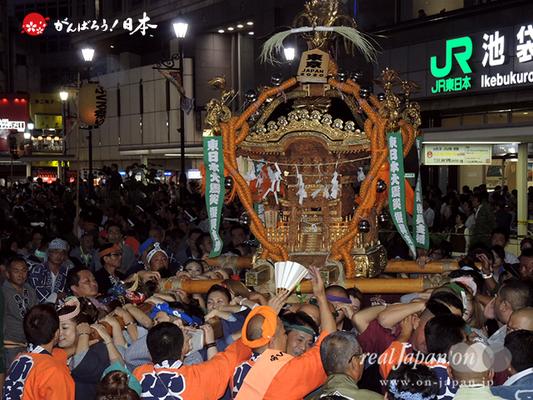 〈第47回 ふくろ祭り〉2014.09.28【日本神輿協会】Ⓒreal Japan'on!:fkr14-008