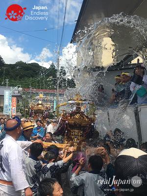 〈八重垣神社祇園祭〉平成28年度年番町:仲町区 子供神輿 @2016.08.05 YEGK16_039