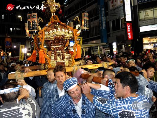 〈第47回 ふくろ祭り〉2014.09.28【長崎二丁目町会】Ⓒreal Japan'on!:fkr14-032