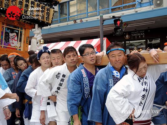 第40回よこすかみこしパレード 2016年10月16日【14. かもめ粋祭會会】YMP16_029