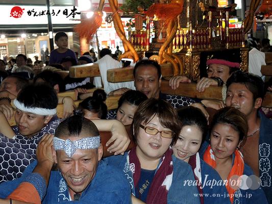 〈第47回 ふくろ祭り〉2014.09.28【池袋御嶽町会】Ⓒreal Japan'on!:fkr14-029