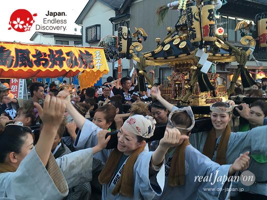 〈八重垣神社祇園祭〉砂町区 @2016.08.04 YEGK16_007