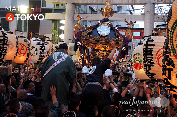 〈下谷神社大祭〉本社神輿渡御 2016.05.08 ©real Japan 'on! (sty16-039)