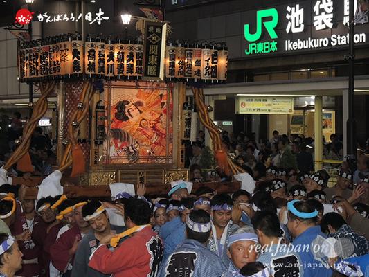 〈第47回 ふくろ祭り〉2014.09.28【池袋関東睦】Ⓒreal Japan'on!:fkr14-002