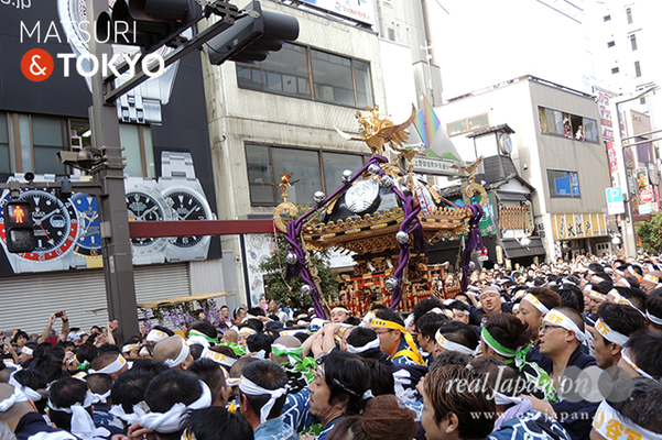 〈下谷神社大祭〉本社神輿渡御 2016.05.08 ©real Japan 'on! (sty16-020)