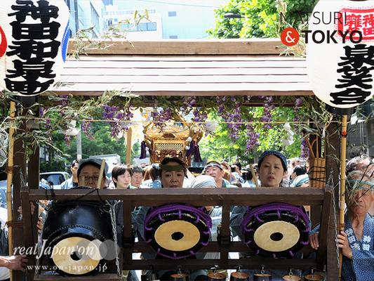 神田和泉町大神輿渡御 (2016年5月15日) ⓒreal Japan on!