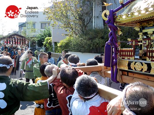 北小岩 八幡神社例大祭 2016年10月02日 KKH16_011