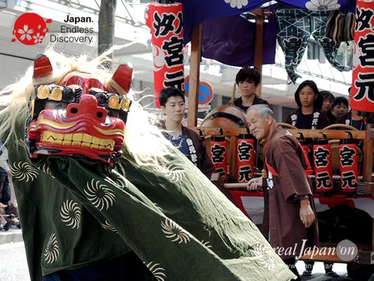 第40回よこすかみこしパレード 2016年10月16日【15. 汐入宮元囃子保存会】YMP16_031
