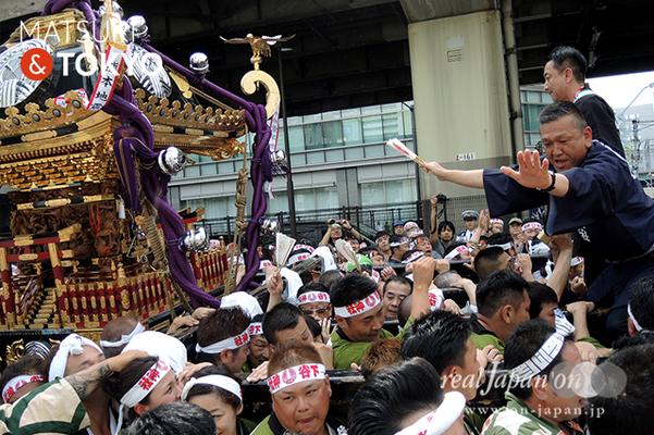 〈下谷神社大祭〉本社神輿渡御 2016.05.08 ©real Japan 'on! (sty16-006)