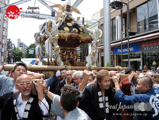 「縣睦 (神奈川県神輿保存会)」2016年 横浜開港祭 みこしコラボレーション_YH16_081