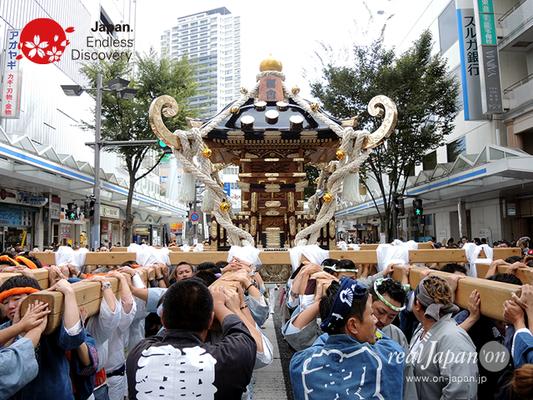 第40回よこすかみこしパレード 2016年10月16日【61. 禊會】YMP16_145