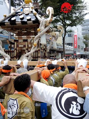 第40回よこすかみこしパレード 2016年10月16日【61. 禊會】YMP16_154