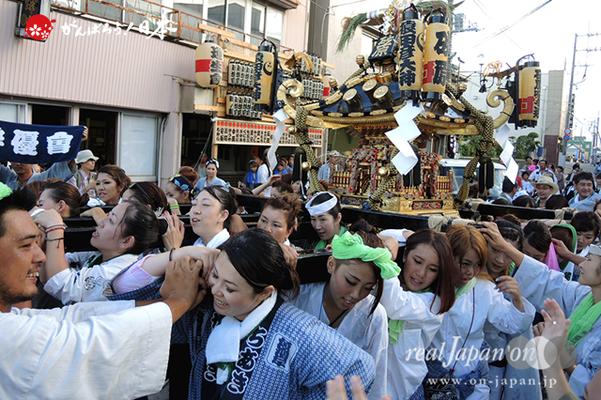 〈八重垣神社祇園祭〉砂原区 @2014.08.04