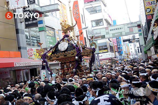 〈下谷神社大祭〉本社神輿渡御 2016.05.08 ©real Japan 'on! (sty16-022)