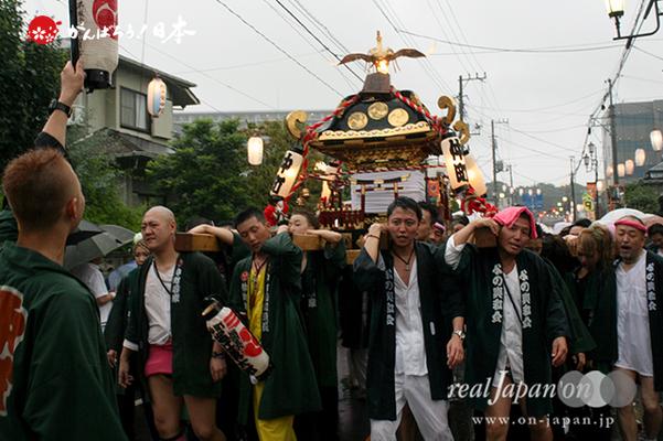 与野夏祭り:本町通り渡御〈仲町〉@2014.07.19