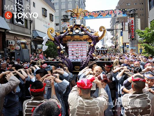 〈三社祭〉一之宮神輿渡御〈浅草西〉 @2016.05.15 (snj16-029)