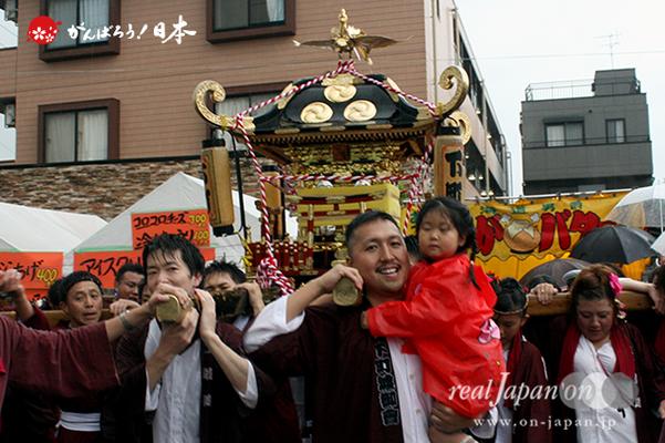 与野夏祭り:本町通り渡御〈下町〉@2014.07.19