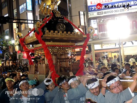 〈第47回 ふくろ祭り〉2014.09.28【若駒會】Ⓒreal Japan'on!:fkr14-007