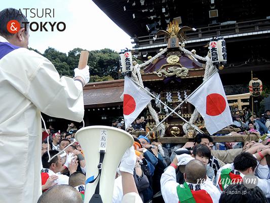 〈建国祭 2017.2.11〉①萬歳會 1(大鳥居)©real Japan'on :kks17-050