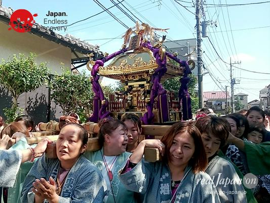 北小岩 八幡神社例大祭 2016年10月02日 KKH16_019