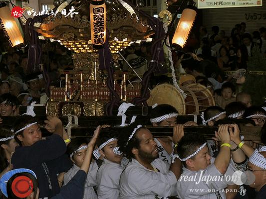 〈第47回 ふくろ祭り〉2014.09.28【国際交流おみこしを担ぐ会】Ⓒreal Japan'on!:fkr14-034