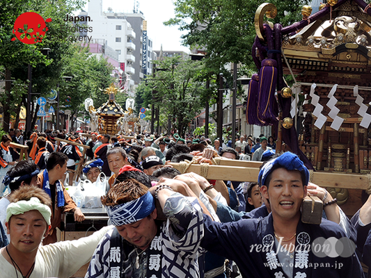 「横浜祭友会」2016年 横浜開港祭 みこしコラボレーション_YH16_056