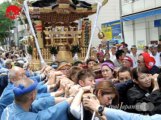 「今泉神輿保存会」2016年 横浜開港祭 みこしコラボレーション_YH16_013