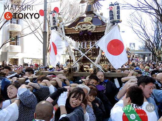 〈建国祭 2017.2.11〉①萬歳會 1(大鳥居)©real Japan'on :kks17-007