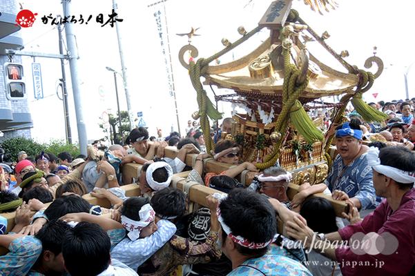 〈2014年 羽田まつり・各町神輿連合渡御〉壽會