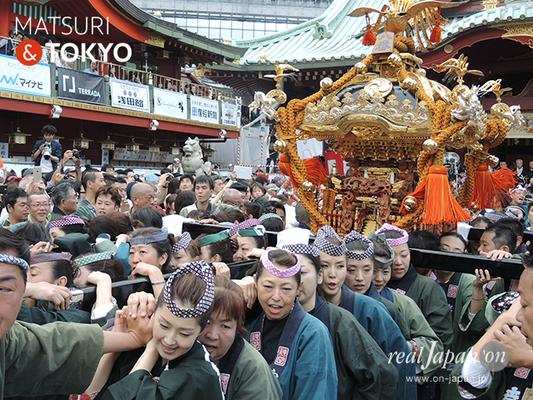 〈神田祭 2016.5.10〉内神田鎌倉町会2 ©real Japan'on -knd16-010