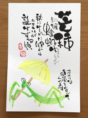 己書作品集 2018.05-11
