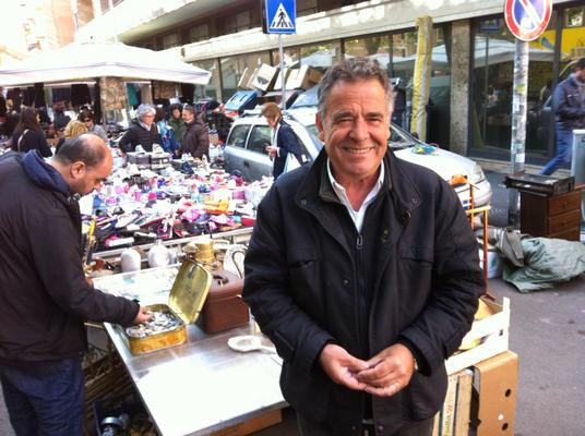 Bruno, radio scout, Porta Portese, Roma